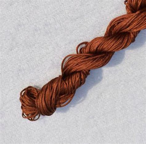 Macrame Braided Cord - 2mm knot satin braided cord macrame beading