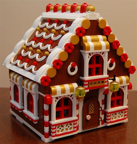 lego gingerbread house lego gingerbread house i may change the clear bricks in th flickr