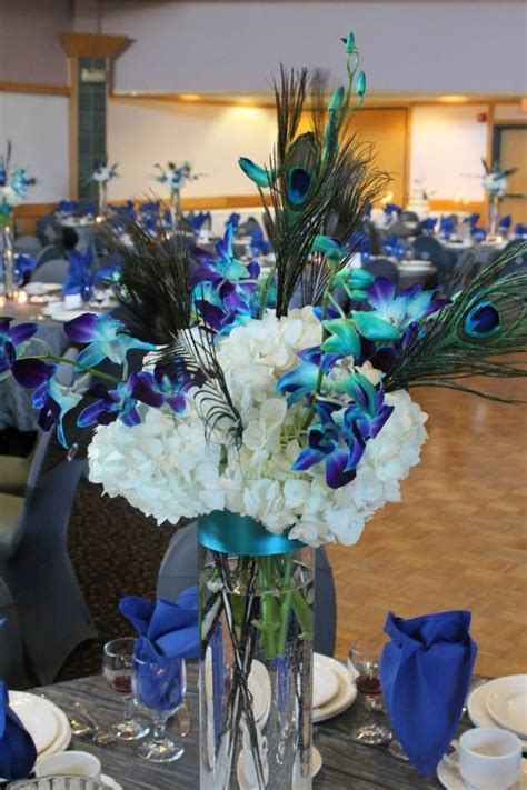 17 best ideas about peacock wedding centerpieces on