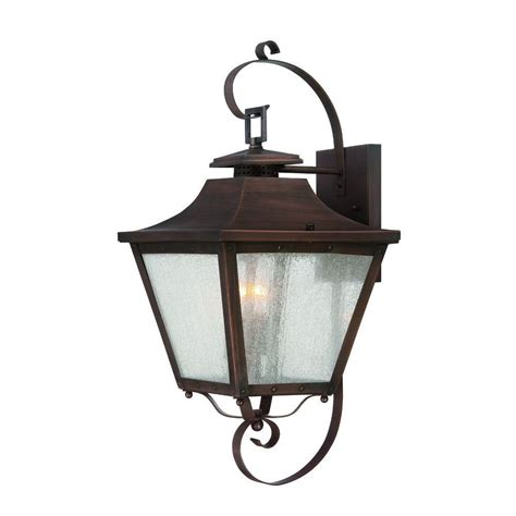 Copper Outdoor Lighting Fixtures Acclaim Lighting Lafayette Collection Wall Mount 2 Light Outdoor Copper Patina Light Fixture