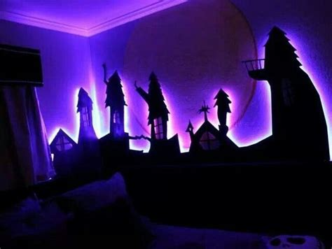 nightmare before christmas themed room could do this with