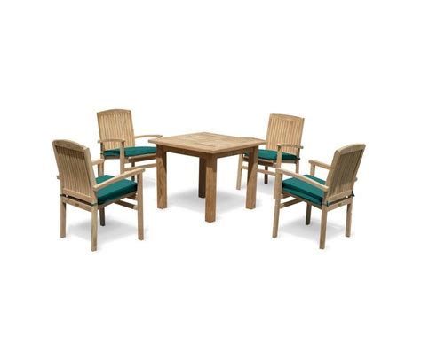 hton fixed rectangular 6 seater dining set garden balmoral 4 seater garden table and stacking chairs teak