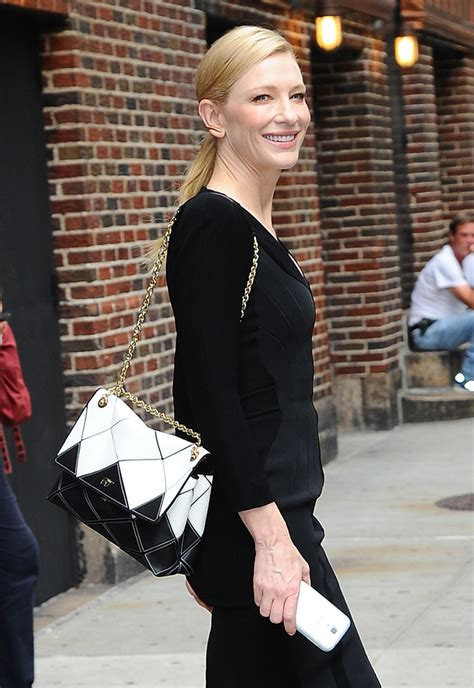 Cate Blanchett And The Of Roger Vivier Shoes by The Many Bags Of Cate Blanchett Purseblog