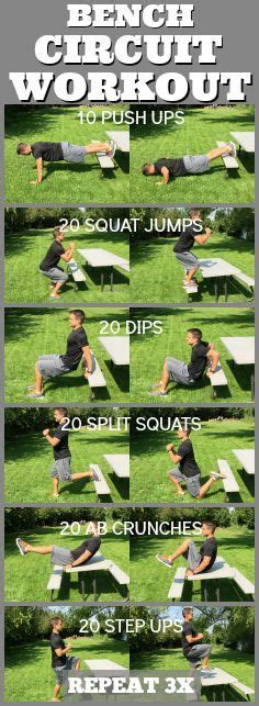 park bench exercises pinterest the world s catalog of ideas