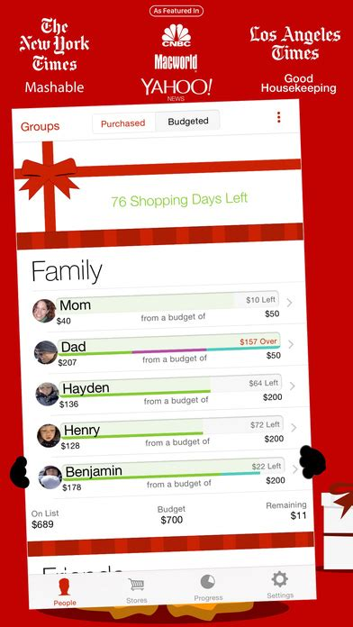 gift list app for iphone the list on the app store