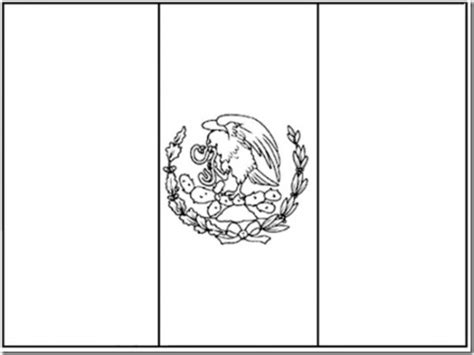 coloring page for mexican flag images