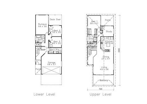 narrow lot house plans with rear garage narrow lot house plans with rear garage front best modern