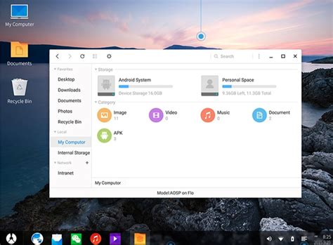 android desktop os os is just another android os for desktop