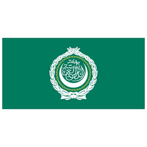 Arabic Also Search For Arab League Vector Flag At Vectorportal