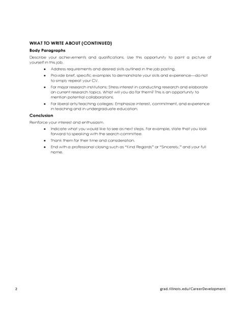 Sle Cover Letter Academic Advisor cover letter academic position 28 images free