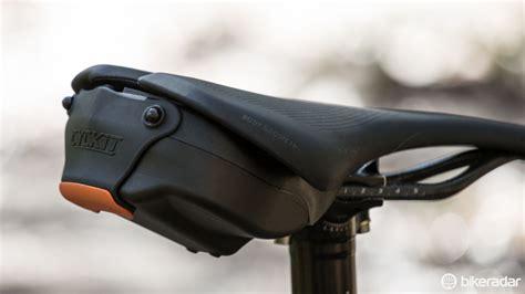 best road bike seat bag cyckit aeroclam saddlebag review bikeradar
