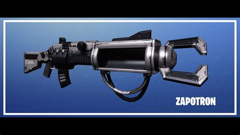 fortnite zapatron sniper zapatron fortnite weapon