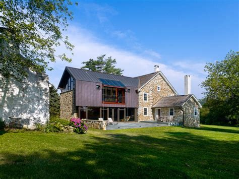 farmhouse style architecture visually intriguing modern addition for 18th century farmhouse freshome