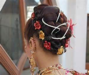 indian bridal hairstyles for reception 8 hairzstyle