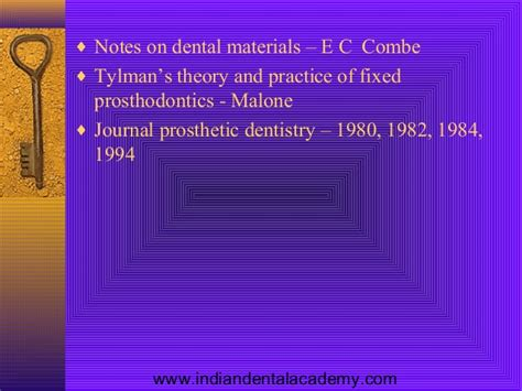 Cd E Book The Journal Of Prosthetic Dentistry electrolytic processes in restorative dentisrty certified fixed ort