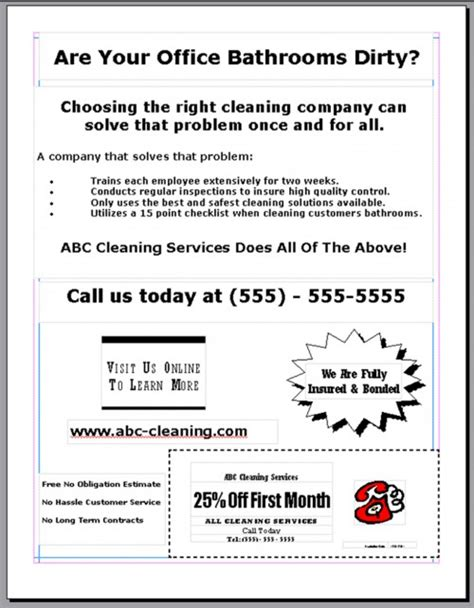 How To Advertise A Cleaning Business Tips For Advertising Your Cleaning Business