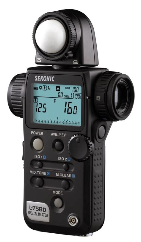 using a sekonic spot meter for photography darkroom