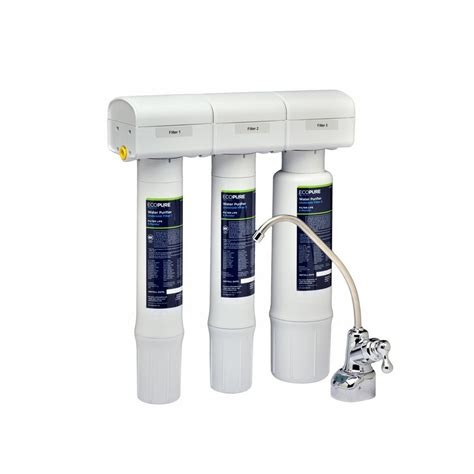 sink water filter system ecopure water purifier sink water filter