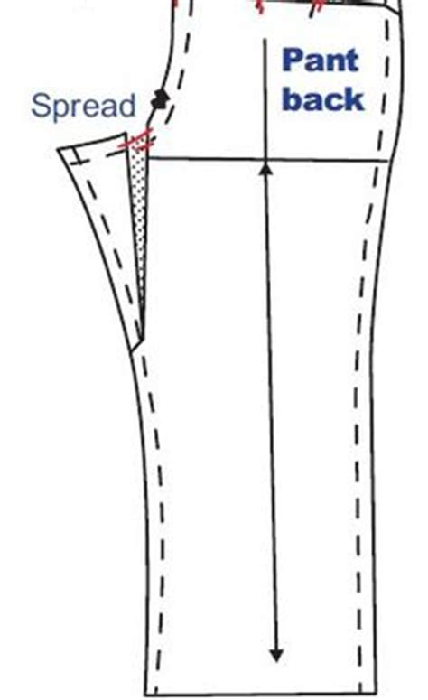 pattern making and alteration pinterest flat bottom adjustment pants trousers drafting