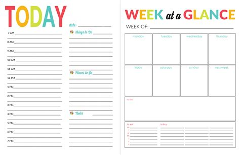 printable calendar 2017 daily amazing weekly academic planner template contemporary