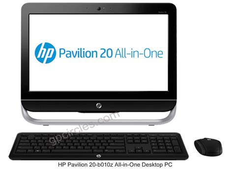 hp all in one desk top hp pavilion 20 b010z all in one desktop pc features