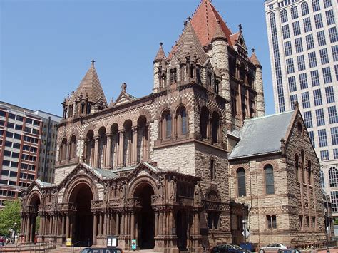 Charming Church Nearby Me #4: 1024px-Trinity_Church%2C_Boston%2C_Massachusetts_-_front_oblique_view.JPG