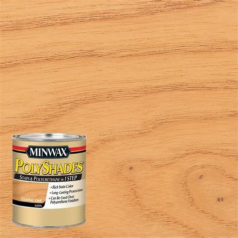 minwax 1 qt wood finish golden oak based interior