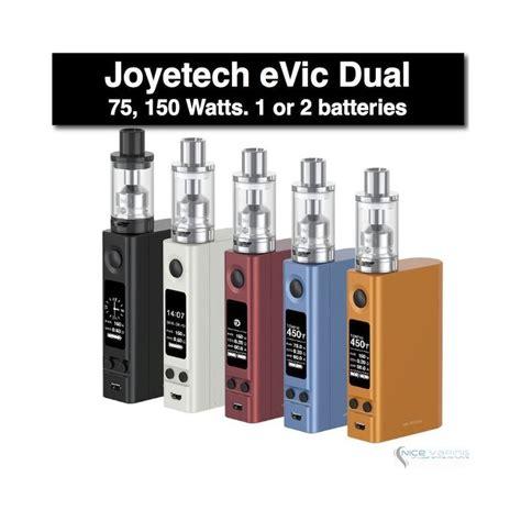 Joyetech Evic Vtc Dual Kit New Firmware V402 Authentic joyetech evic vtc dual