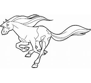 running horse coloring page free printable coloring pages - Running Horse Coloring Pages