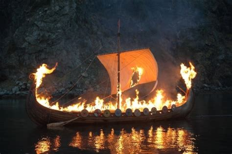 viking fire boat wherein i mercilessly slaughter your dreams of a viking