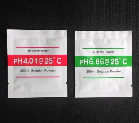Ph Buffer Powder Serbuk Kalibrasi Ph Meter 1 Set T1310 2 ph meter calibration powder hidroponikstore