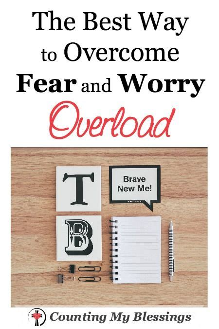 the best way to overcome anxiety is to do nothing a blog the best way to overcome fear and worry overload change