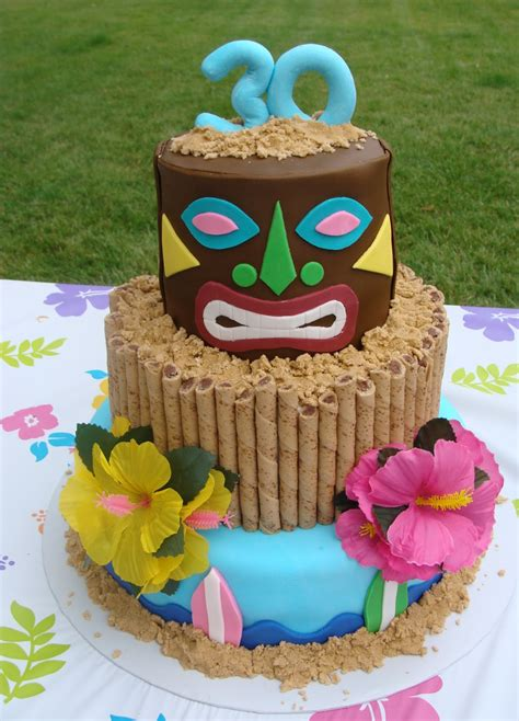 sweet treats by bonnie tiki luau cake