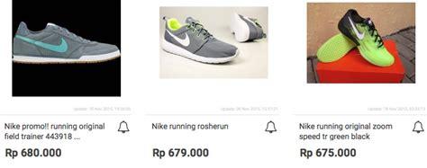 Harga Nike Running harga sepatu nike running