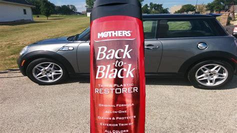 Trim Restorer Back To Black Original mothers back to black trim plastic restorer test review