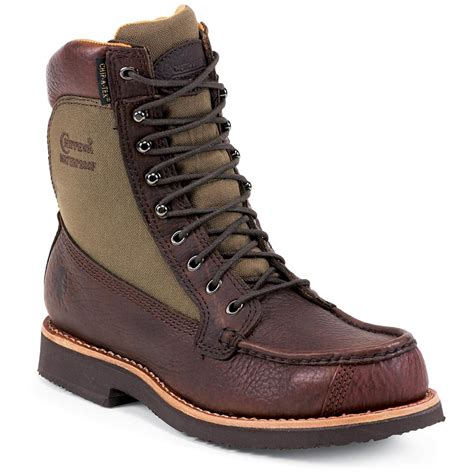 s chippewa 174 8 quot waterproof moc toe boots 201615