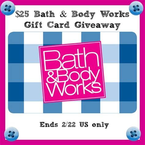 Bath Body Works Gift Card - 25 bath body works gift card giveaway sparkles to sprinkles