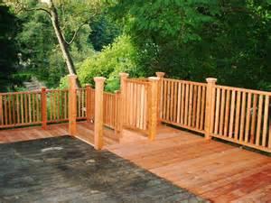 wood decks pictures of redwood decks