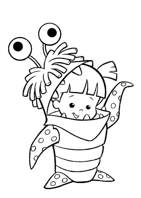 monsters inc coloring pages online monsters inc coloring pages