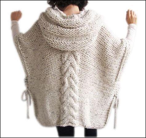 poncho para ni a en crochet y agujas circulares tricot poncho tejido a dos agujas tejidos a dos agujas