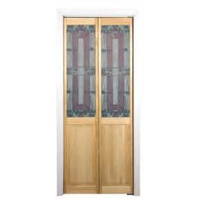 Folding Doors Interior Home Depot Pinecroft 30 In X 80 In Glass Over Panel Sonoma Wood