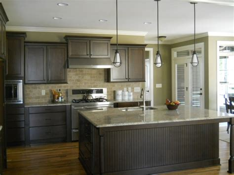 kitchen with yellow walls and gray cabinets kitchen wall color kitchen interior ideas combination