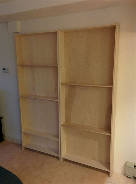 diy bookcase door