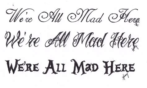 we re all mad here by tripptych on deviantart