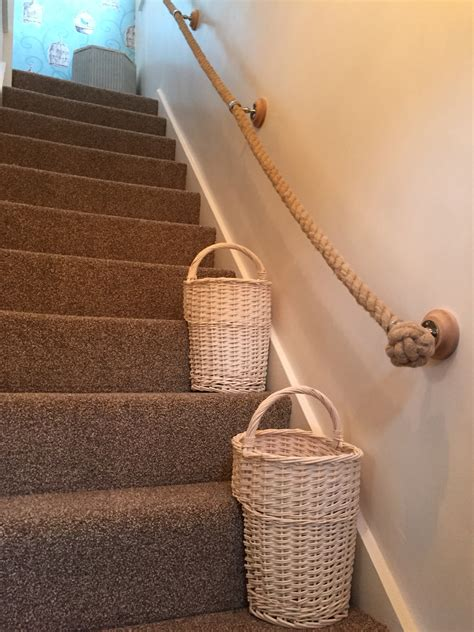 Handlauf Treppe Seil by Rope Handrail And Stairs Baskets Nautical