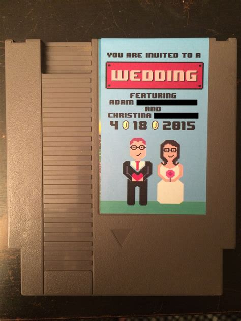 Nerdy Wedding Invitations