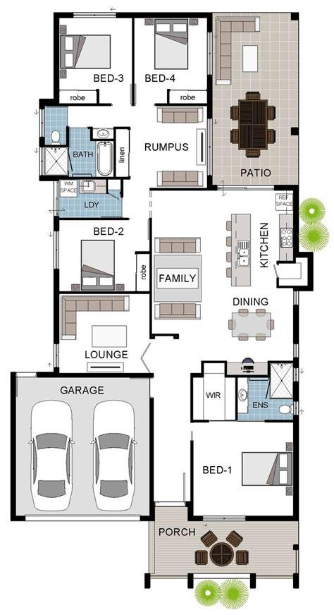 gradyhomes townsville 3 bedroom this works small floorplan design single storey display home design