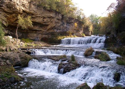 Landscape Rock Hudson Wi Willow River State Park