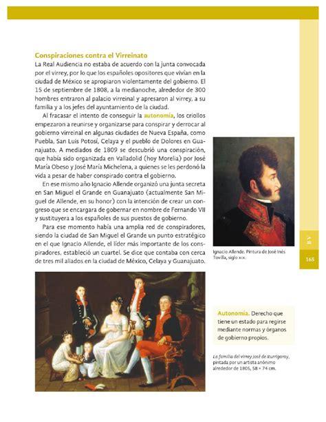 libro de la sep 4 grado historia causas de la independencia historia 4to bloque 5 apoyo