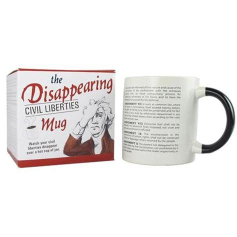 Disappearing Civil Liberties Mug by Lifestyle New York Historical Society Museum Store